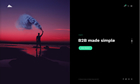 Portfolio Fullscreen Split Slider